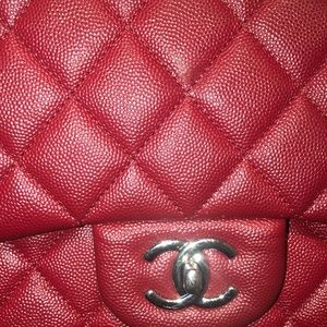 CHANEL Bags - Classic Flap Lambskin Chanel Bag